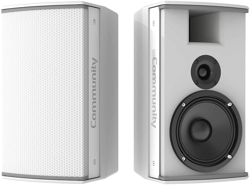 Community IC6-1062/00W 6.5-in 2-Way Speaker White - PSSL ProSound and Stage Lighting