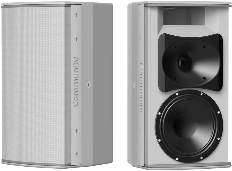 Community IC6-1082WT26 8-Inch Outdoor Speaker Grey - PSSL ProSound and Stage Lighting