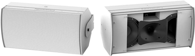 Community IC6-2082-26W Dual 8-Inch Speaker - White - PSSL ProSound and Stage Lighting