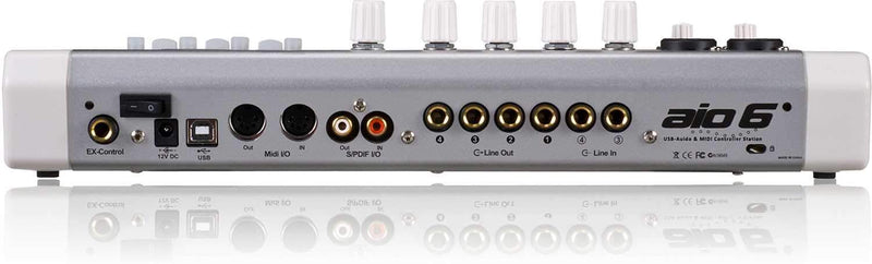 Icon AIO 6 Control Surface and 4/4 Audio Interface - PSSL ProSound and Stage Lighting