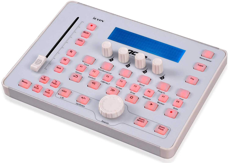 Icon Qcon Lite Single-Fader DAW Control Surface - PSSL ProSound and Stage Lighting