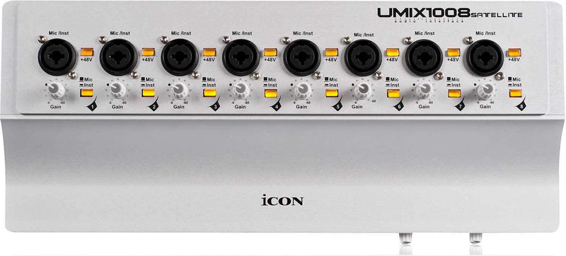 Icon Umix1008 Satellite QCon Pro Audio Interface - PSSL ProSound and Stage Lighting