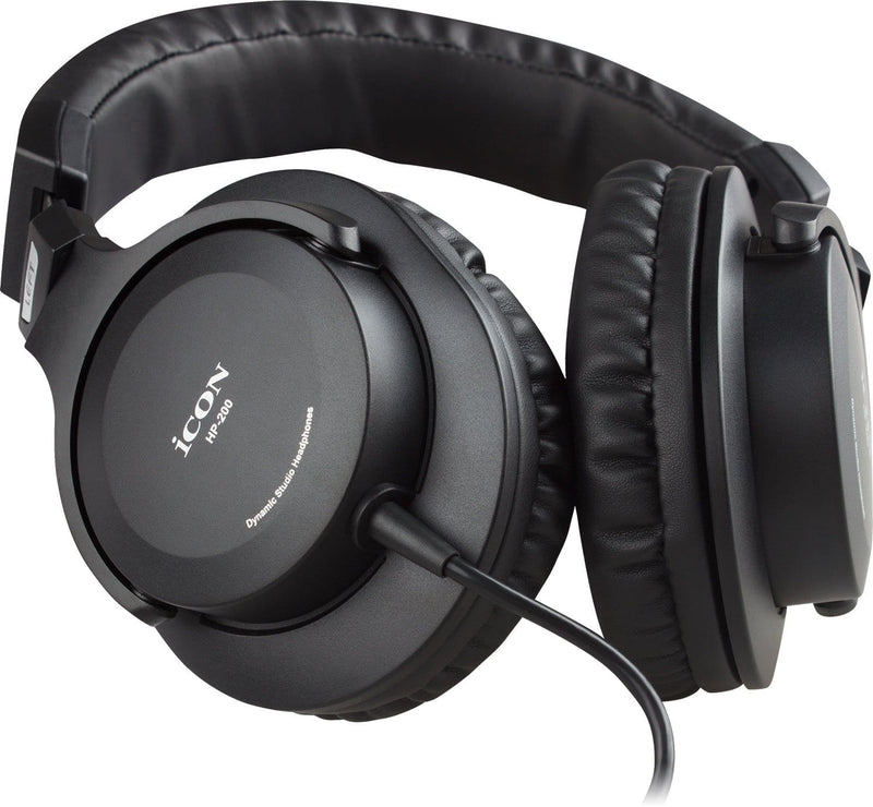 Icon Pro Audio HP-200 Over Ear Headphones - PSSL ProSound and Stage Lighting