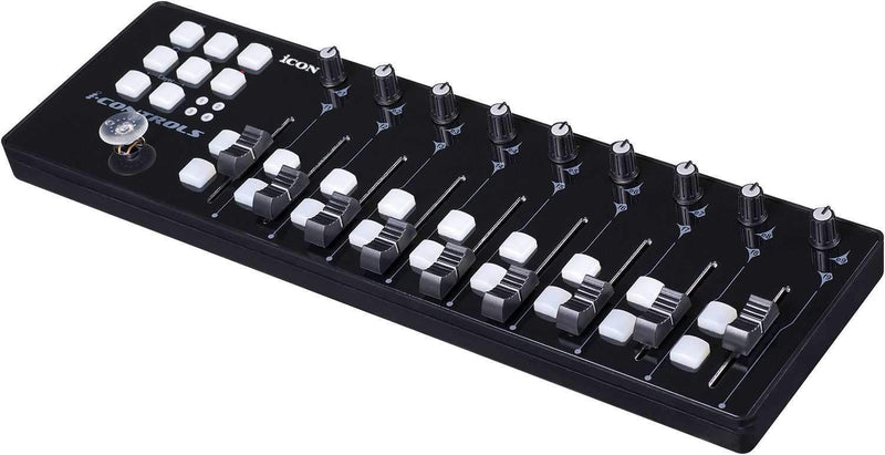 Icon i-Controls Portable 9-Fader MIDI Controller - PSSL ProSound and Stage Lighting