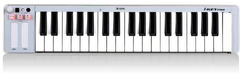 Icon iKey Pro Portable 37-Key MIDI controller - PSSL ProSound and Stage Lighting