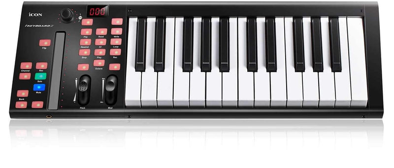 Icon iKeyboard 3X 25-Key USB Keyboard Controller - PSSL ProSound and Stage Lighting