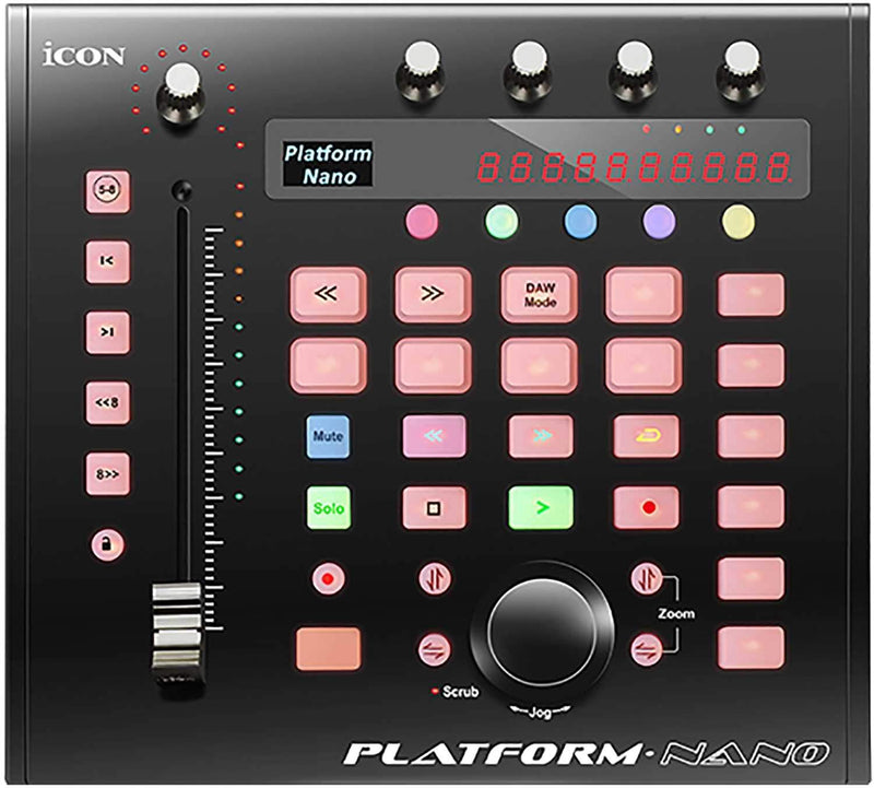 Icon Pro Audio Platform Nano MIDI Control Surface - PSSL ProSound and Stage Lighting