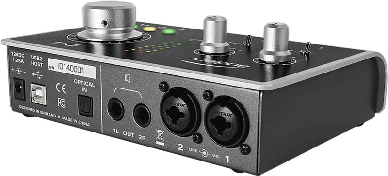 Audient Id14 2-Channel USB2 Audio Interface - PSSL ProSound and Stage Lighting