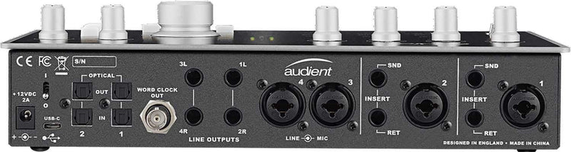 Audient Id44 4-Channel USB2 Audio Interface - PSSL ProSound and Stage Lighting