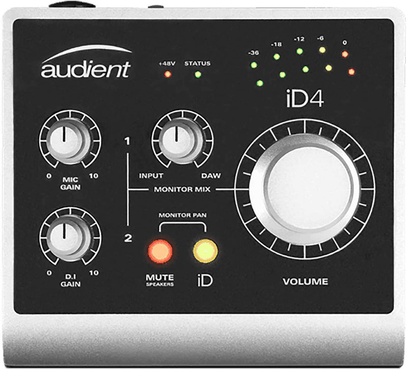 Audient iD4 1-Channel USB2 Audio Interface - PSSL ProSound and Stage Lighting