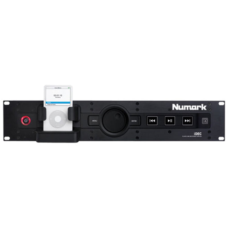 NUMARK IDEC A/V Playback And Recording IPOD Rack - PSSL ProSound and Stage Lighting