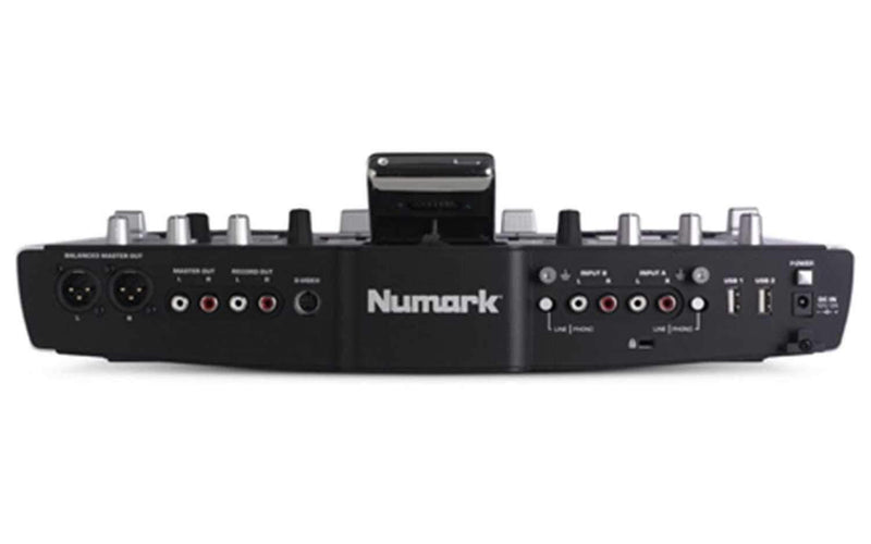 Numark IDJ2 IPOD Mixing Console with Scratch & Pitch - PSSL ProSound and Stage Lighting