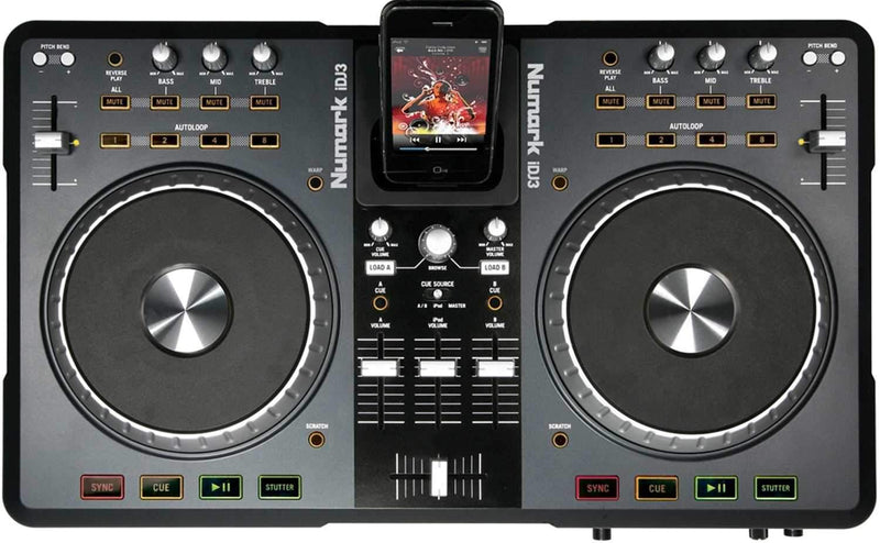 Numark IDJ3 Digital DJ Controller Sys with IPOD Dock - PSSL ProSound and Stage Lighting