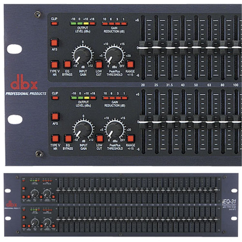 Dbx IEQ-31 Dual 31 Band Equalizer - PSSL ProSound and Stage Lighting