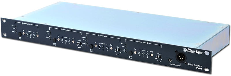 Clear-Com IF4W4 4-Channel 4-Wire Camera Interface - PSSL ProSound and Stage Lighting