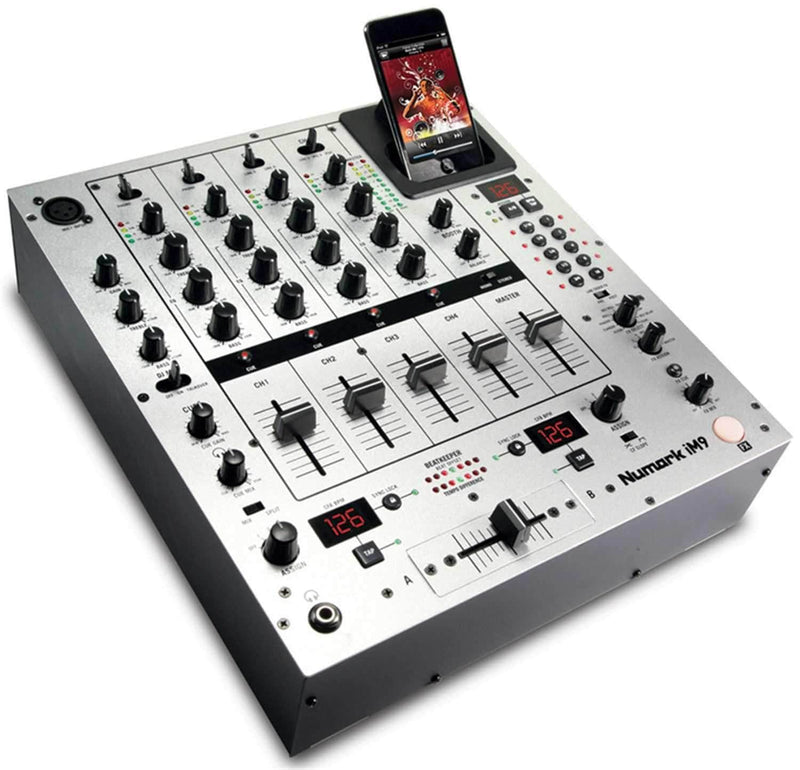 Numark IM9 4 Channel DJ Mixer With iDock FX & More - PSSL ProSound and Stage Lighting
