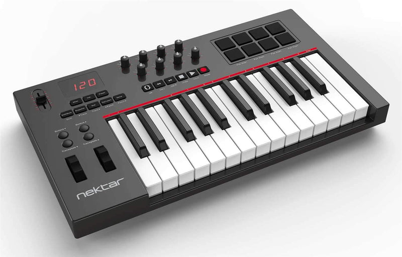 Nektar Impact LX25 USB Keyboard Controller - PSSL ProSound and Stage Lighting