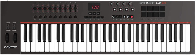 Nektar Impact LX61 USB Keyboard Controller - PSSL ProSound and Stage Lighting