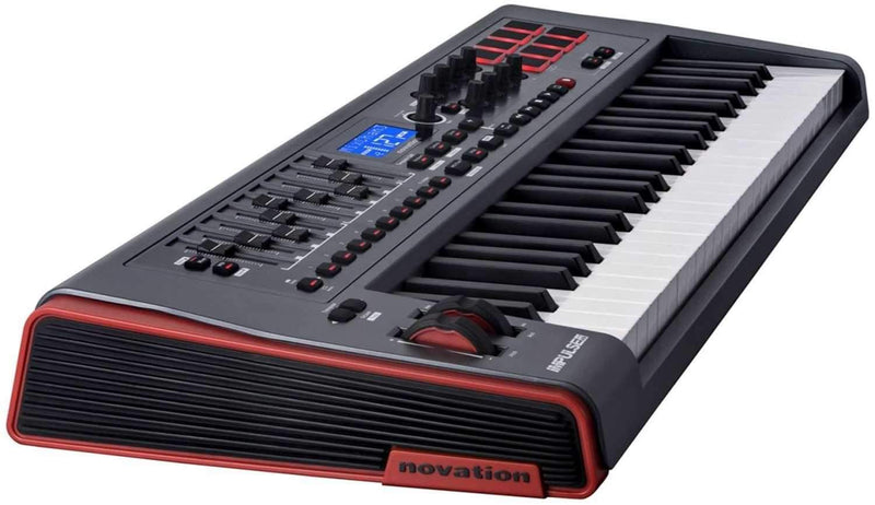 Novation IMPULSE-49 USB/MIDI Controller-49 Keys - PSSL ProSound and Stage Lighting