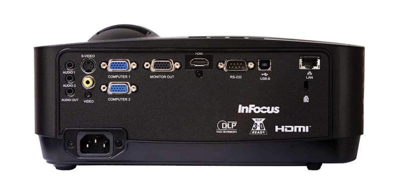 InFocus IN128HDX DLP 1080 4000-Lumen Projector - PSSL ProSound and Stage Lighting