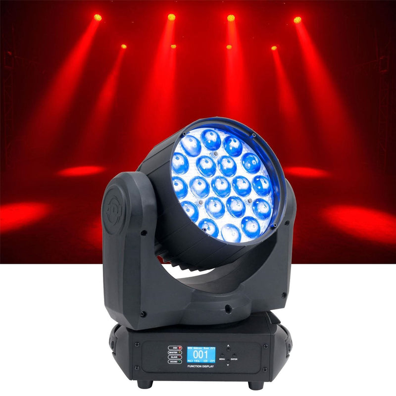 ADJ American DJ Inno Color Beam Z19 RGBW LED Wash Yoke - PSSL ProSound and Stage Lighting