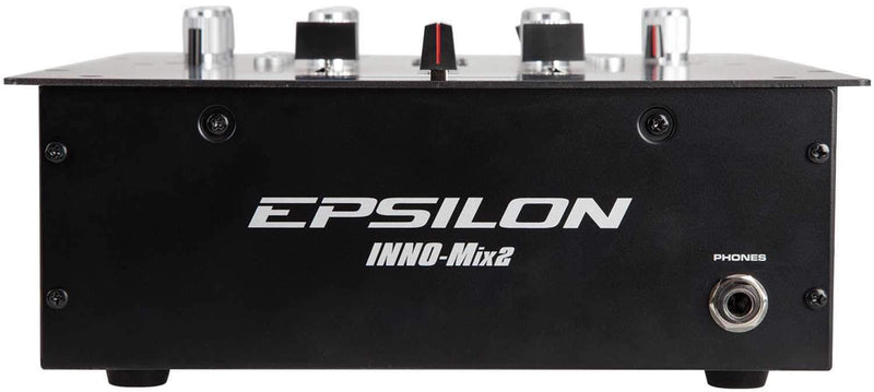 Epsilon INNO-MIX 2 Channel Scratch DJ Mixer - PSSL ProSound and Stage Lighting