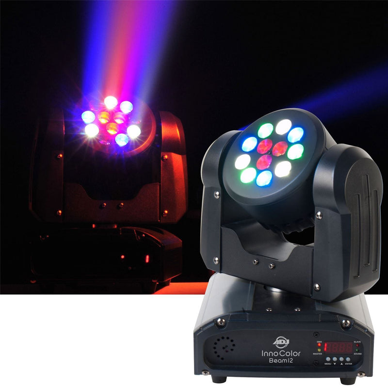 American DJ Inno Color Beam 12 RGBW Moving LED - PSSL ProSound and Stage Lighting