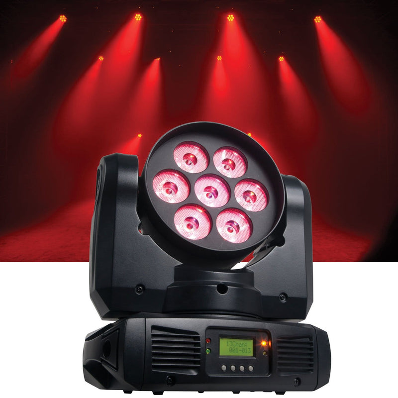 American DJ Inno Color Beam Quad 7 Moving Head - PSSL ProSound and Stage Lighting
