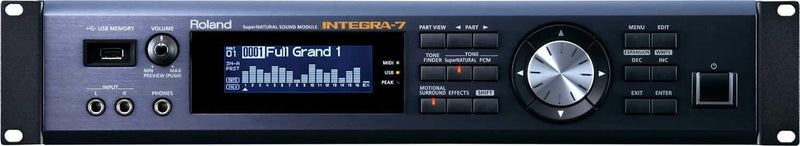 Roland Integra-7 Synthesizer Rack Sound Module - PSSL ProSound and Stage Lighting