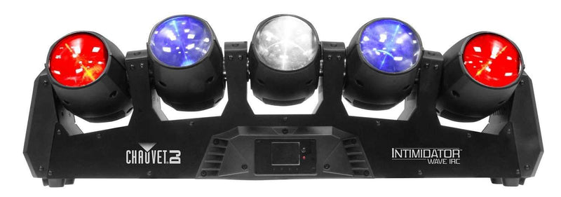 Chauvet Intimidator Wave IRC 5x Moving LED Lights - PSSL ProSound and Stage Lighting