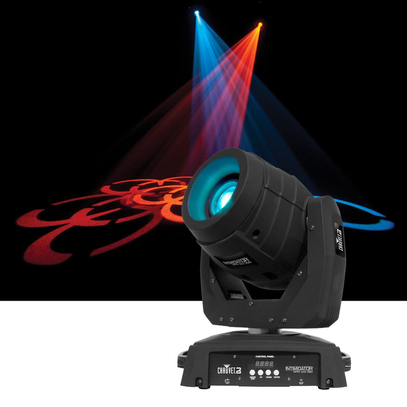 Chauvet Intimidator Spot LED 350 DMX Moving Light - PSSL ProSound and Stage Lighting