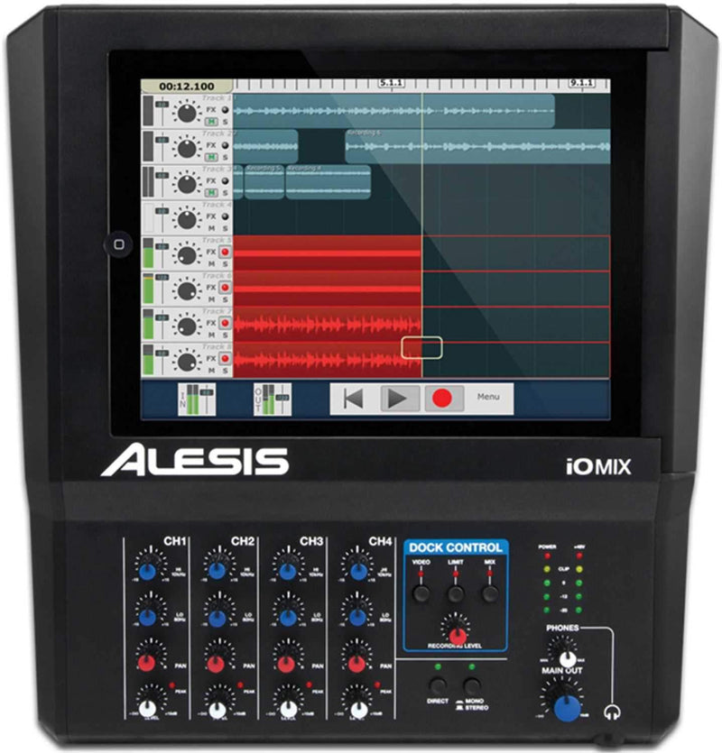 Alesis IO-MIX 4Ch iPad Audio Interface - PSSL ProSound and Stage Lighting