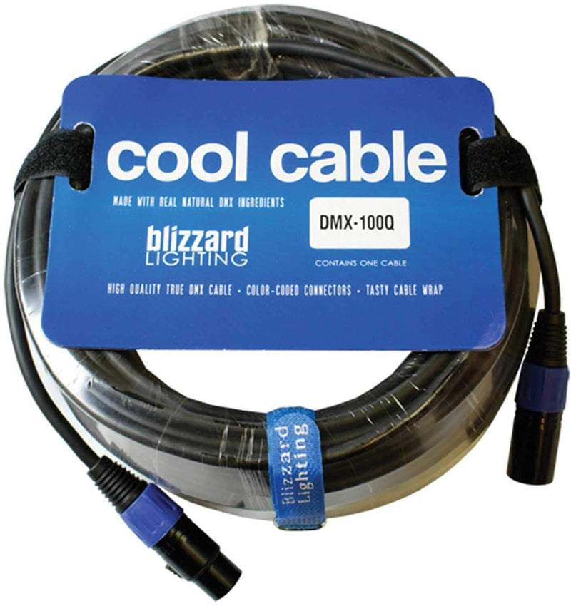 Blizzard IP DMX 100Q 100' 3-Pin IP Rated DMX Cable - PSSL ProSound and Stage Lighting