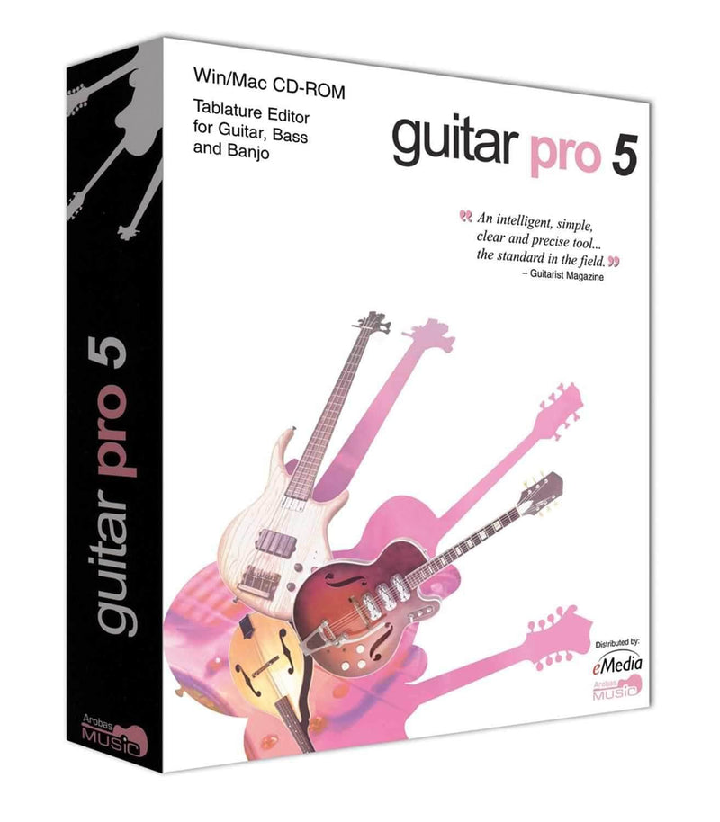 eMedia IP07061 Guitar Pro 5.1 - PSSL ProSound and Stage Lighting