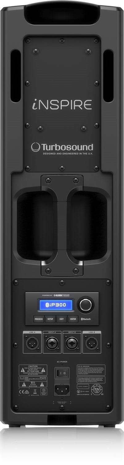 Turbosound iNSPIRE iP300 Powered Portable PA System - PSSL ProSound and Stage Lighting