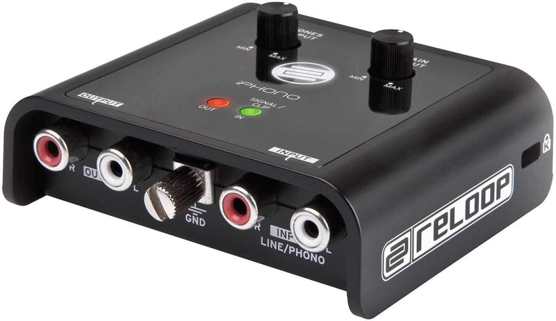 Reloop Iphono 2 Recording USB Interface - PSSL ProSound and Stage Lighting