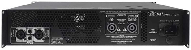 Peavey IPR2 7500 PA Power Amplifier 7500W - PSSL ProSound and Stage Lighting