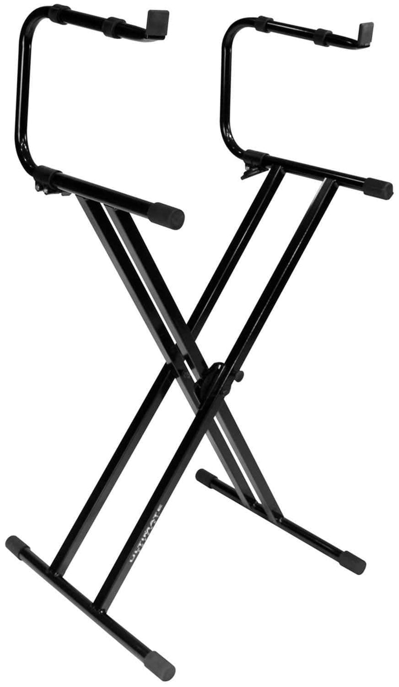 Ultimate IQ2200 Two-Tier X-Style Keyboard Stand - PSSL ProSound and Stage Lighting