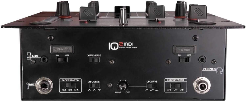 Reloop IQ2 Midi 2-Channel MIDI Mixer - PSSL ProSound and Stage Lighting