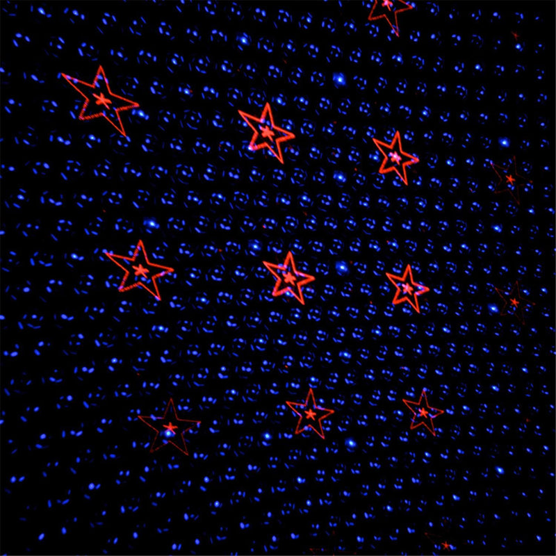 Irradiant Micro Red And Blue Pattern Laser - PSSL ProSound and Stage Lighting