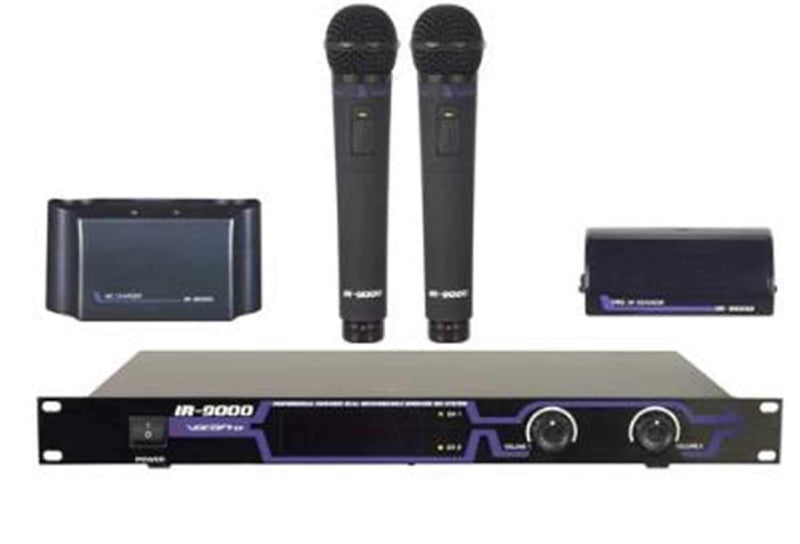 Vocopro IR9000 Infrared Wireless Handheld Mic Sys - PSSL ProSound and Stage Lighting