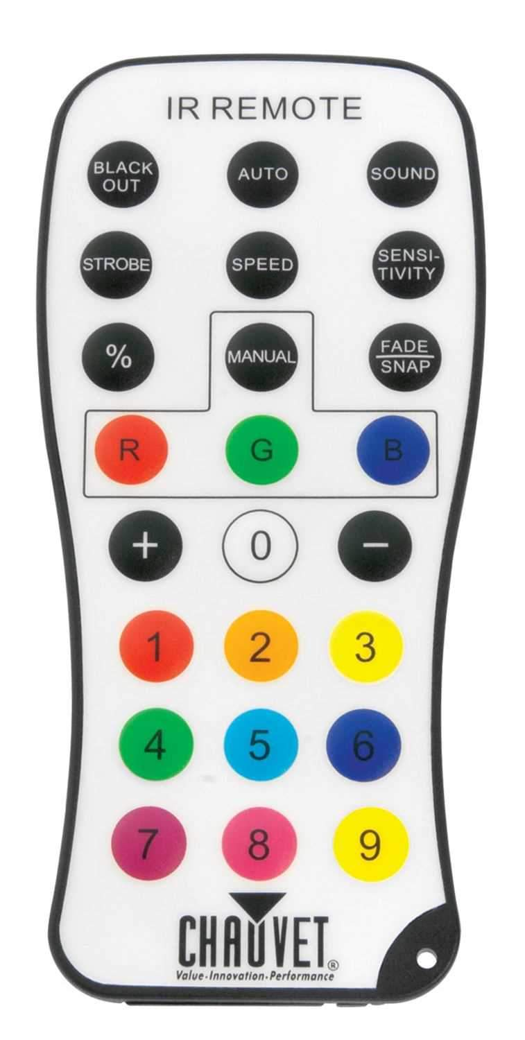 Chauvet IRC Infared Remote Control - PSSL ProSound and Stage Lighting