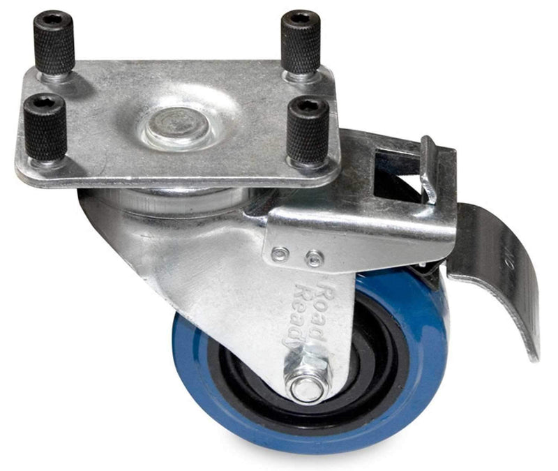 Intellistage IS4CASTB 4Pk of Casters with Brakes - PSSL ProSound and Stage Lighting