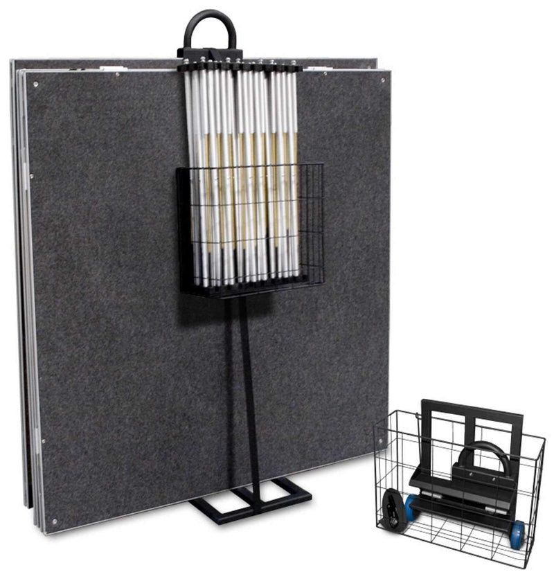 IntelliStage Drum Riser Trolly Transport Cart - PSSL ProSound and Stage Lighting