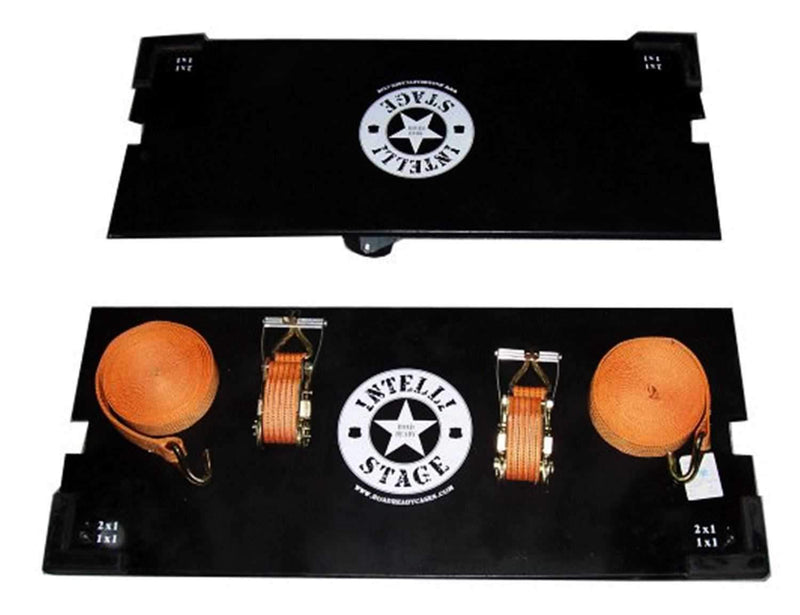 IntelliStage IS4X4CB Caster Board Kit for 4Ft x 4Ft Stage Platforms - PSSL ProSound and Stage Lighting