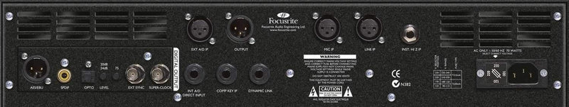 Focusrite ISA-220 Session Pack Channel Strip - PSSL ProSound and Stage Lighting