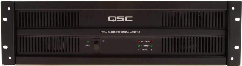 QSC ISA-300TI 70 Volt Power Amplifier - PSSL ProSound and Stage Lighting