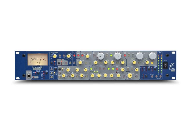 Focusrite ISA-430-MKII Producer Pack Channel Strip - PSSL ProSound and Stage Lighting