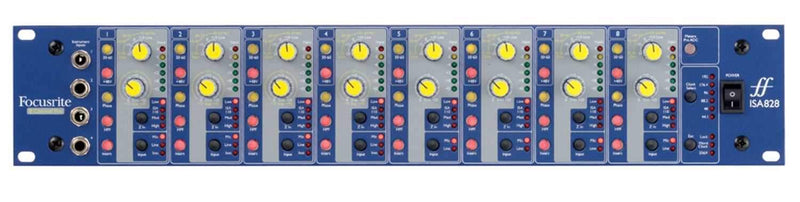 Focusrite ISA-828 High End 8-Channel Mic Pre - PSSL ProSound and Stage Lighting