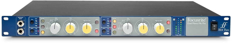 Focusrite ISA-TWO 1U 2-Channel Mic Pre - PSSL ProSound and Stage Lighting